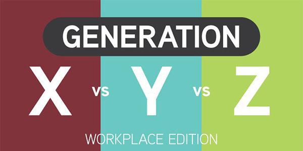 Jak si stojí generace X, Y a Z na pracovišti