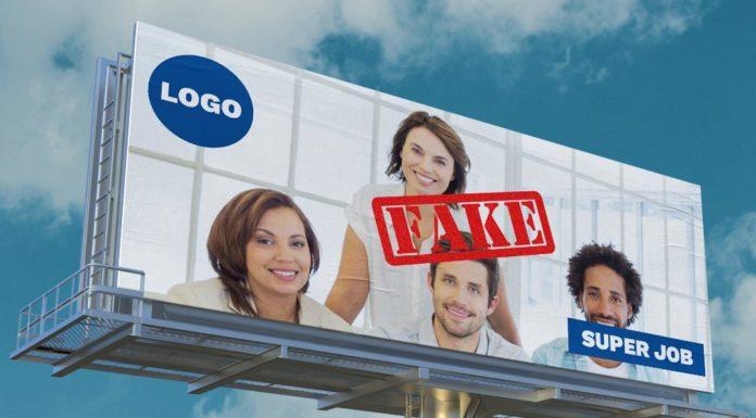 Fake HR marketing