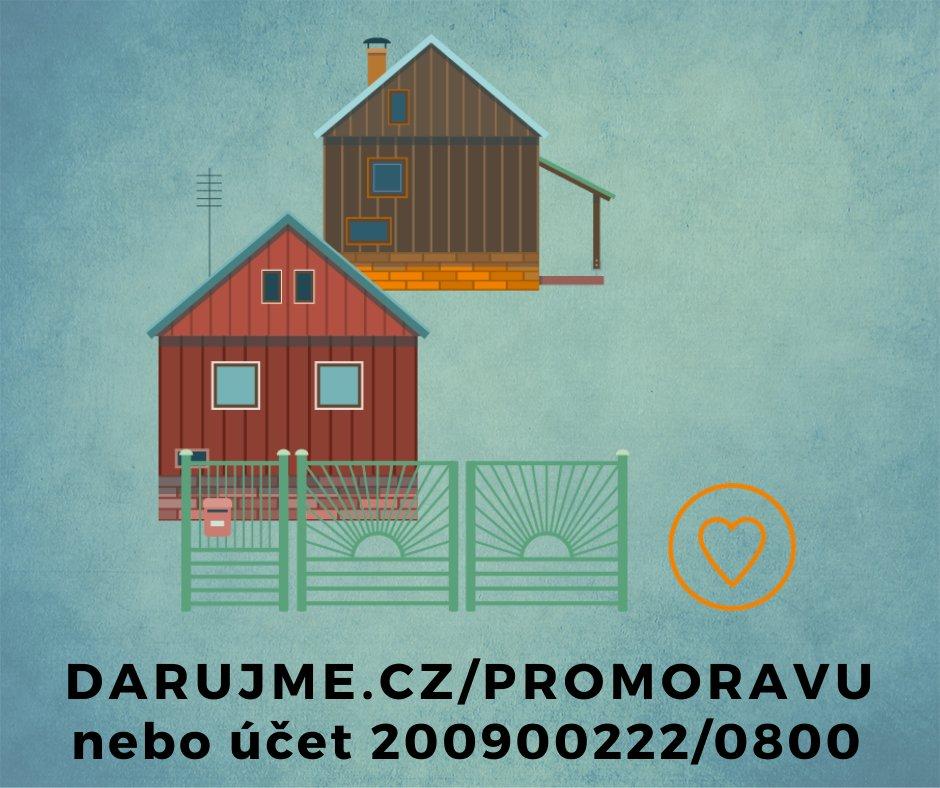 Pomozme zničeným obcím na jihu Moravy