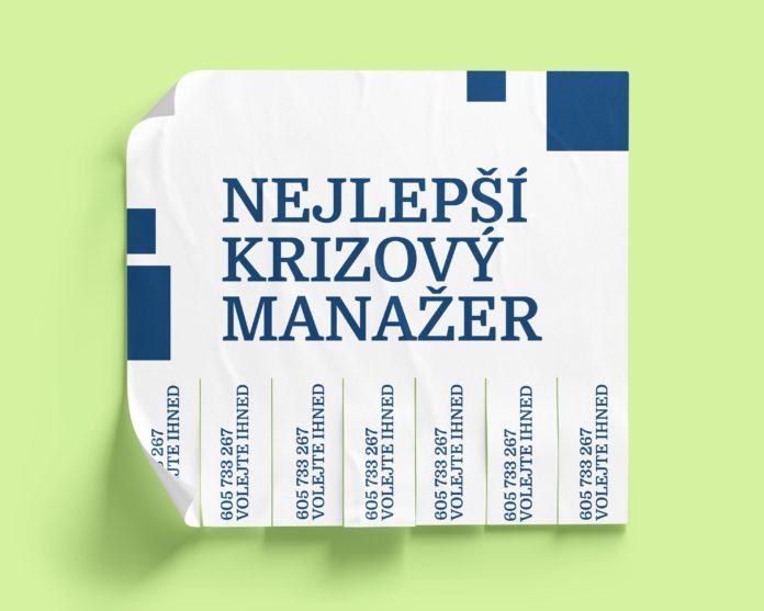 nejlepší krizový manažer